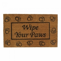 Wipe Your Paws Door Mat 10017676