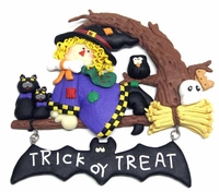 Witch Halloween Wall Hanging 29158