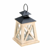 Wooden Railroad Candle Lantern, 8 1/2 inches 10015423