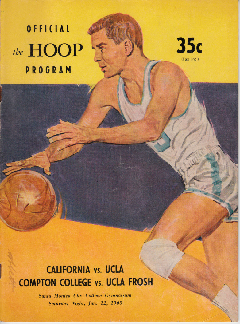 1963 UCLA Bruins vs Cal Bears basketball program John Wooden