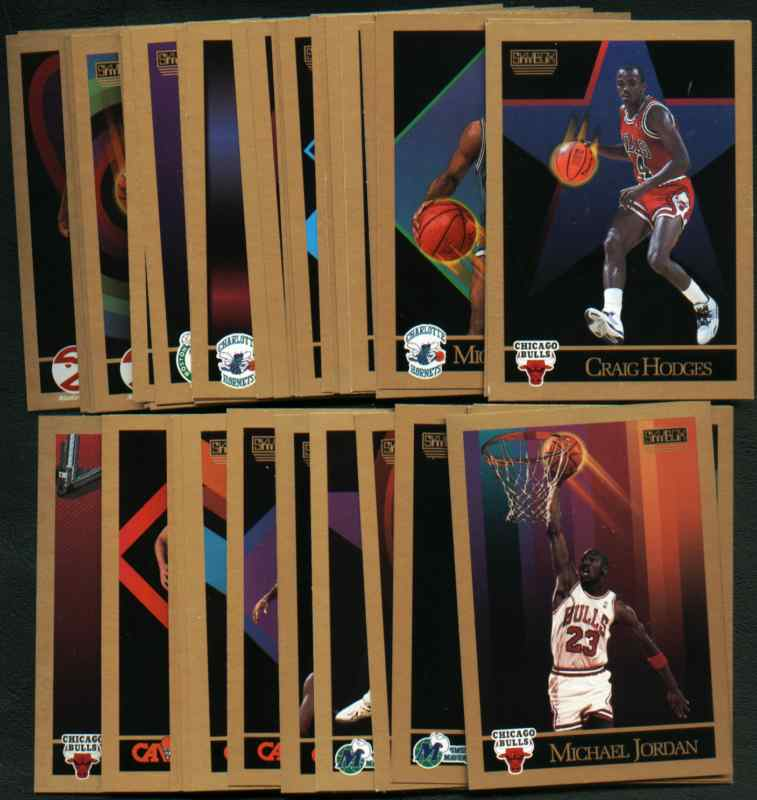 1990-91 SkyBox Basketball 300 Card Complete Set (Michael