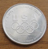 1996 USA Olympic Cycling Team General Mills coin or medallion