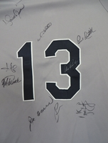 2005 Yankees team autographed jersey Mariano Rivera A-Rod Posada Torre