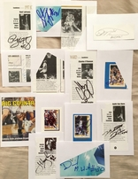 29 college basketball superstar autographs or cut signatures (Baron Davis Dan Dickau Kerry Kittles Harold Miner Keith Van Horn)