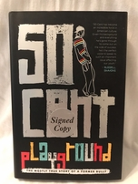 50 Cent autographed Playground hardcover book
