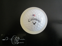 Adam Hadwin autographed 2017 Farmers Insurance Open tournament used Callaway golf ball
