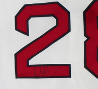 Adrian Gonzalez autographed Boston Red Sox authentic game model jersey