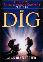Alan Dean Foster autographed The Dig softcover book