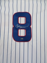 Andre Dawson autographed Chicago Cubs authentic Majestic game model jersey (GTSM)