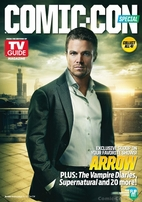 Arrow 2013 Comic-Con TV Guide magazine (Stephen Amell)