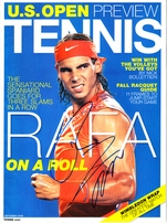 ATP Tour Men's Tennis Autographs
