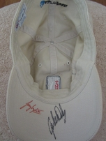 Autographed PGA Tour golf cap or hat (Mark Calcavecchia John Daly Corey Pavin Scott Simpson)