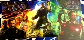 Avengers Infinity War set of 3 2017 Comic-Con exclusive Marvel mini 13x20 movie posters