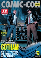 Batman & Gotham 2014 Comic-Con TV Guide magazine