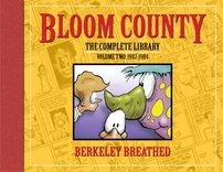 Berke Breathed autographed Bloom County Complete Library V2 book (OPUS remarqued) #54/100