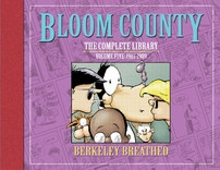 Berke Breathed autographed Bloom County Complete Library V5 book (OPUS remarqued) #11/100