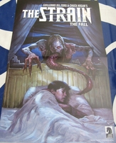 Breath of Bones and The Strain Dark Horse Comics double sided poster
