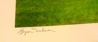 Byron Nelson autographed TPC Las Colinas 25x35 inch lithograph #433/500