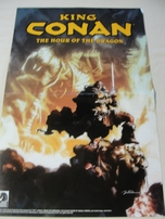 Conan the Barbarian & King Conan comic book double sided Dark Horse Comics poster