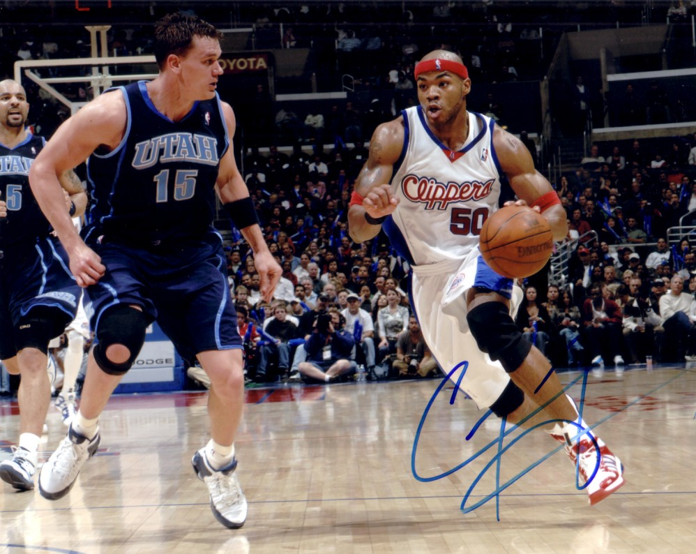 Corey Mag te autographed Los Angeles Clippers 8x10 photo