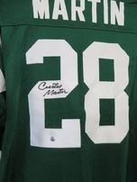 Curtis Martin autographed New York Jets stitched jersey (GTSM)