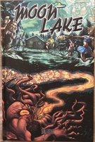 Dan Fogler autographed Moon Lake volume 1 hardcover graphic novel comic book compilation