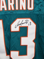 Dan Marino autographed Miami Dolphins authentic Starter jersey (Mounted Memories)