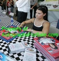Danica Patrick autographed 2005 Sports Illustrated cover matted & framed