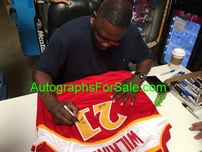 Dominique Wilkins autographed Atlanta Hawks stitched throwback jersey inscribed Human Highlight Film (BAS)