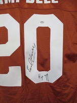 Earl Campbell autographed Texas Longhorns authentic Nike stitched jersey inscribed HT 77