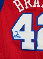 Elton Brand autographed Los Angeles Clippers stitched jersey