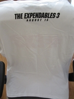 Expendables 3 movie 2014 Comic-Con exclusive promo sleeveless T-shirt or tank top