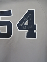 Goose Gossage autographed New York Yankees authentic Russell Athletic jersey inscribed HOF 2008