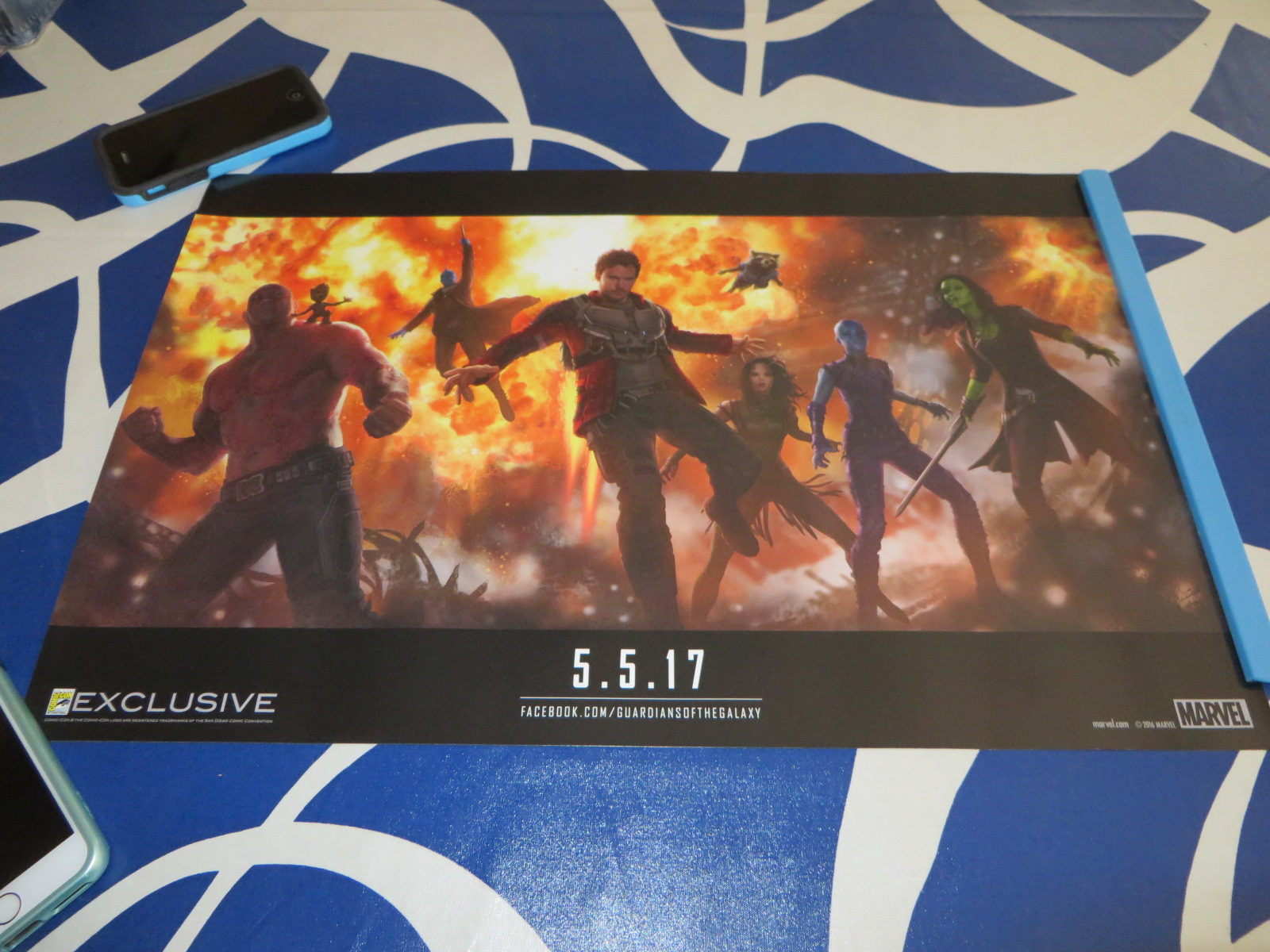 Guardians Of The Galaxy 2 Poster For Sale - Gray Cardigan ...