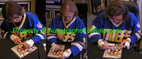 Hanson Brothers (Dave Hanson Steve Carlson Jeff Carlson) autographed Slap Shot 2007 Sports Illustrated