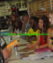 Headkrack & Jenna Owens autographed Dish Nation 2013 Comic-Con promo poster