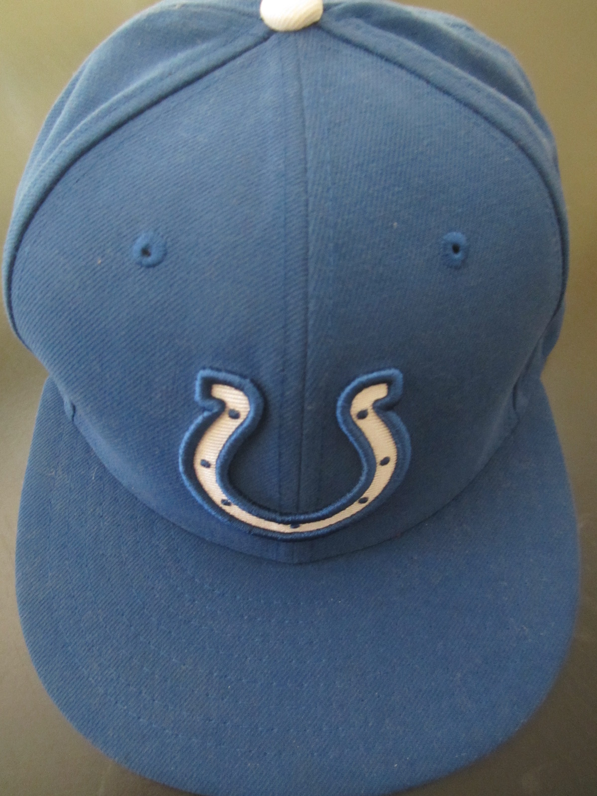 ... norway indianapolis colts new era authentic on field blue cap or hat  fitted size 7 1 f70fe83cf