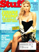 Ivanka Trump September 2006 & September 2007 Stuff magazine set