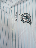 Jack McKeon autographed Florida Marlins authentic Majestic jersey