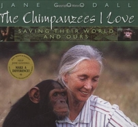 Jane Goodall autographed The Chimpanzees I Love hardcover photo book