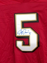 Jeff Garcia autographed San Francisco 49ers authentic Champion stitched jersey