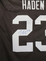 Joe Haden autographed Cleveland Browns authentic Reebok 2010 ROOKIE SEASON stitched jersey