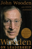 John Wooden autographed On Leadership hardcover book