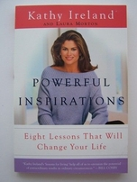 Kathy Ireland autographed Powerful Inspirations paperback book