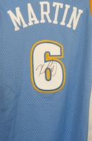 Kenyon Martin autographed Denver Nuggets authentic Reebok stitched Swingman jersey