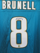 Mark Brunell autographed Jacksonville Jaguars authentic Nike jersey