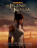 Michael DiMartino & Bryan Konietzko autographed Legend of Korra Art of the Animated Series Book One