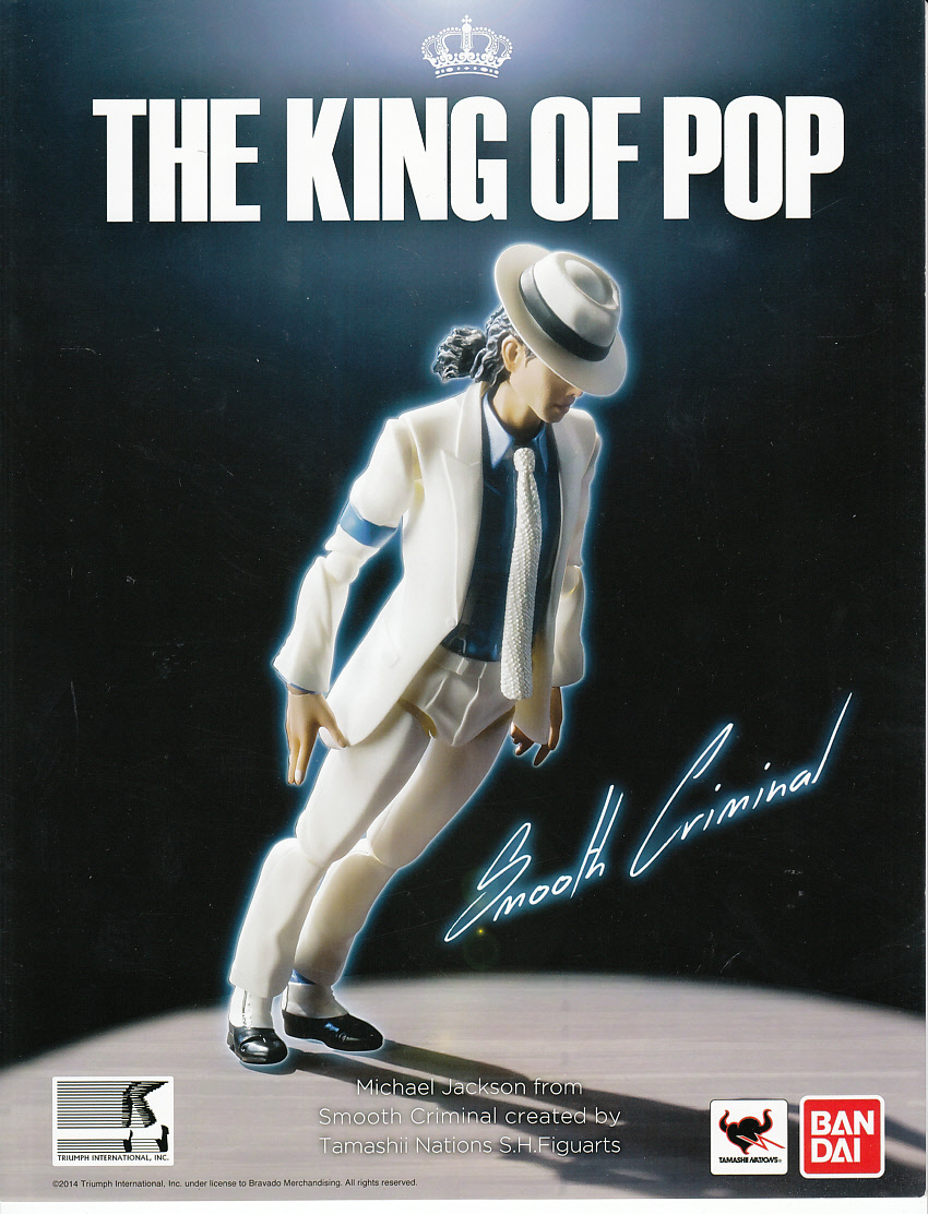 Michael Jackson The King Of Pop Bandai Action Figure 2014 Comic Con Promo Sell Sheet