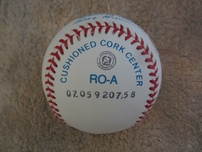 Mickey Mantle autographed Rawlings American League baseball with JSA LOA (PRISTINE CONDITION)