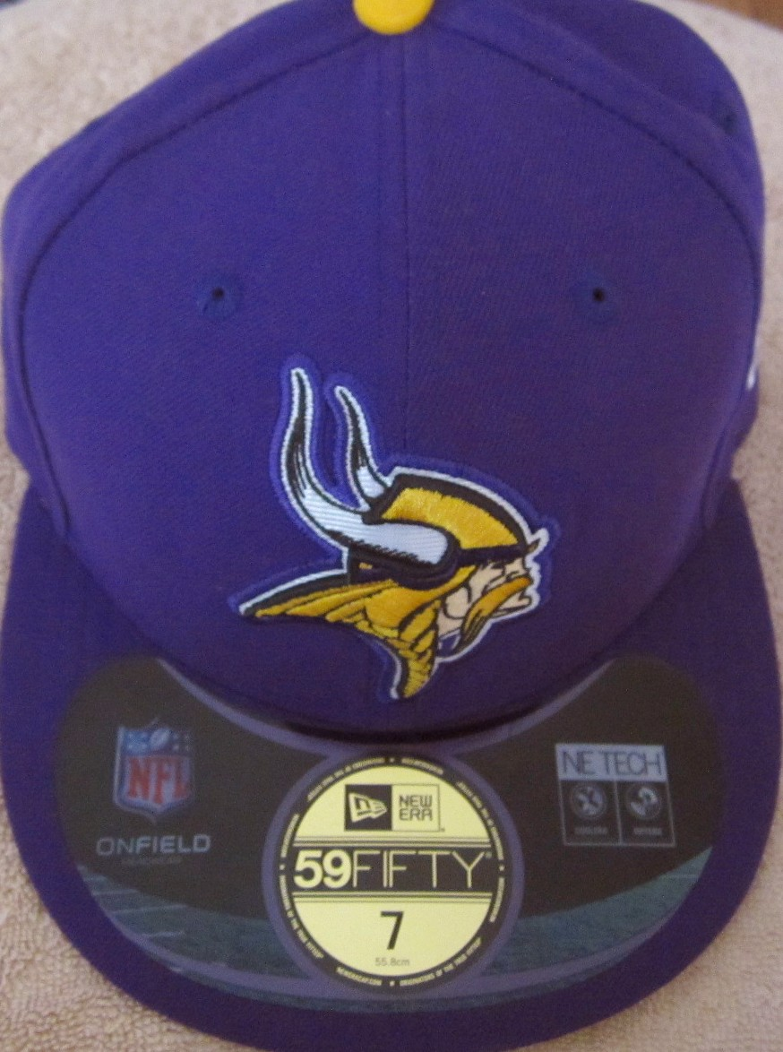 Minnesota Vikings New Era authentic On Field purple cap or hat (fitted size  7) 724d71863c7